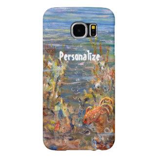Underwater World Tropical Fish Aquarium Painting Samsung Galaxy S6 Case