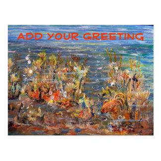 Underwater World Tropical Fish Aquarium Post Cards