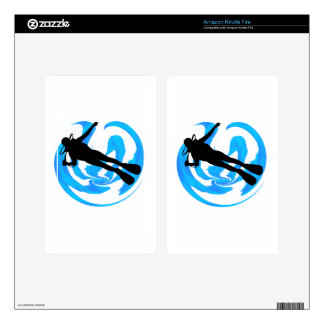 UNDERWATER WORLDS AMAZING KINDLE FIRE DECAL