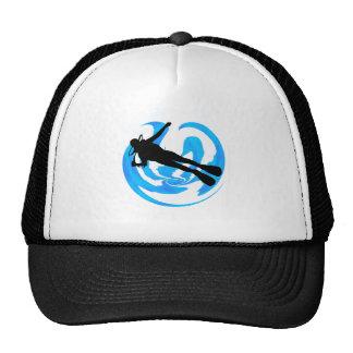 UNDERWATER WORLDS AMAZING TRUCKER HAT