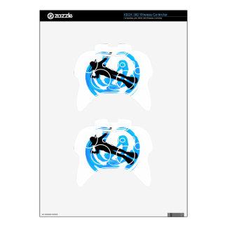 UNDERWATER WORLDS AMAZING XBOX 360 CONTROLLER SKIN