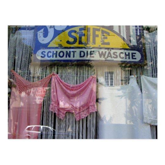 Underwear - Berlin Laundry Postcard