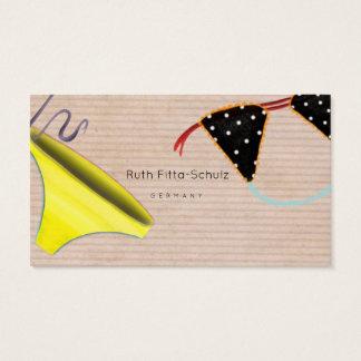Underwear Designer Unique Business Card