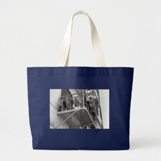 Underwear Out To Dry Large Tote Bag