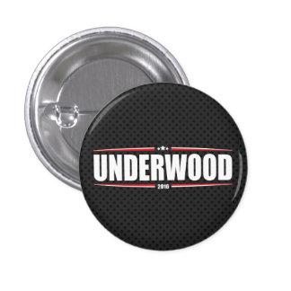 Underwood 2016 (Stars & Stripes - Black) Pinback Button