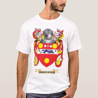 Underwood Family Crest (Coat of Arms) T-Shirt