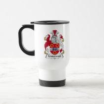 Underwood Family Crest Mug