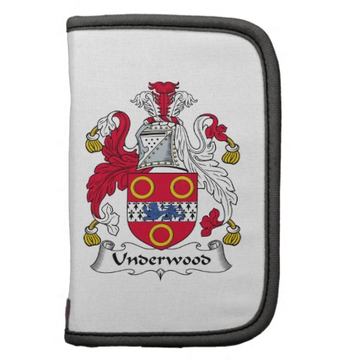 Underwood Family Crest Folio Planners