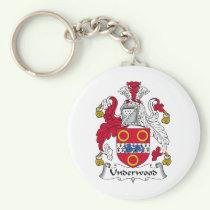 Underwood Family Crest Keychain