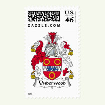 Underwood Family Crest Stamps
