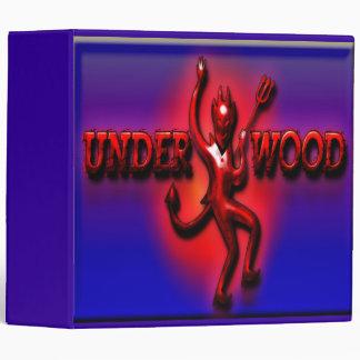 Underwood Ham Red Devil III Large Binder