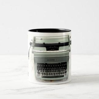 Underwood TouchMaster Model Five typewriter Two-Tone Coffee Mug