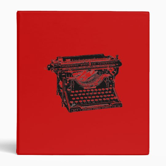 Underwood Typewriter Writer Binder