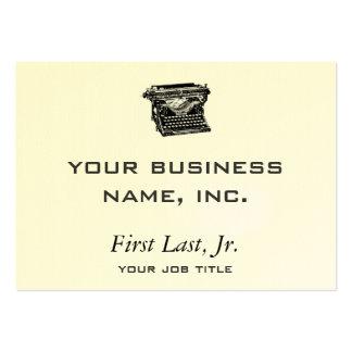 Underwood Typewriter Writer Business Card Templates