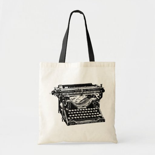Underwood Typewriter Writer Canvas Bag
