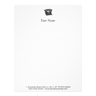 Underwood Typewriter Writer Letterhead