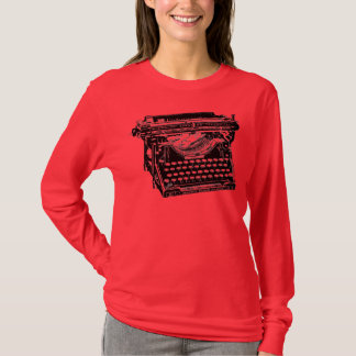 Underwood Typewriter Writer T-Shirt