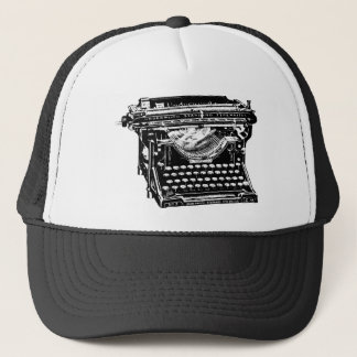 Underwood Typewriter Writer Trucker Hat