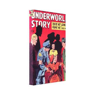 Underworld Story Canvas Print