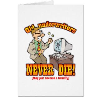 Underwriters Card