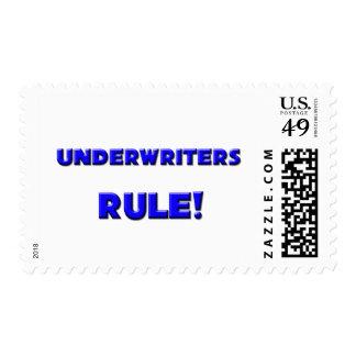 Underwriters Rule! Postage Stamp