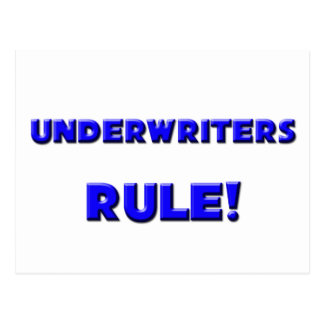 Underwriters Rule! Postcard