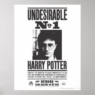 Undesirable ningún 1 posters