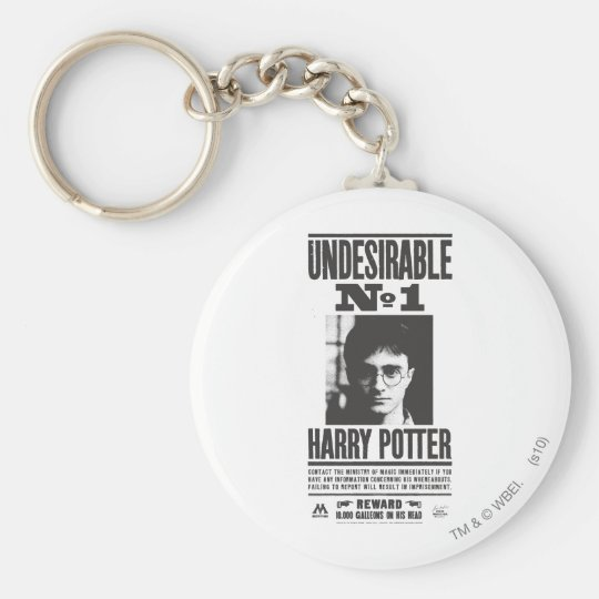 Undesirable No 1 Keychain