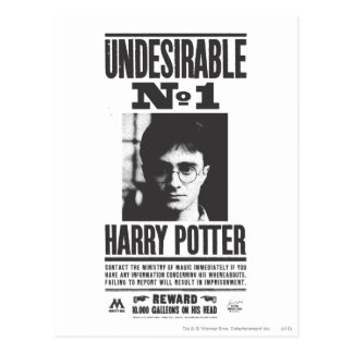 Undesirable No 1 Postcards
