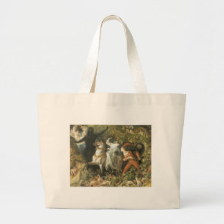Undine and The Wood Demon - Vintage Fairy Tote Bag