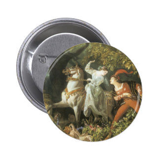 Undine and The Wood Demon - Vintage Fairy Pin