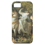 Undine and The Wood Demon - Vintage Fairy iPhone 5 Case