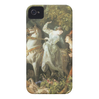 Undine and The Wood Demon - Vintage Fairy iPhone 4 Case-Mate Case