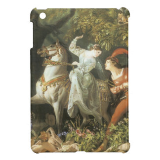 Undine and The Wood Demon - Vintage Fairy Cover For The iPad Mini