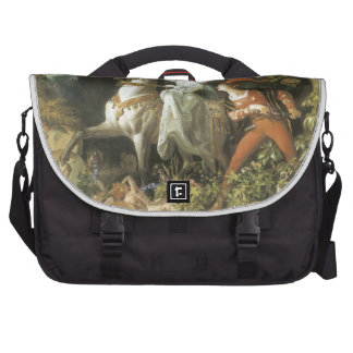 Undine and The Wood Demon - Vintage Fairy Bags For Laptop