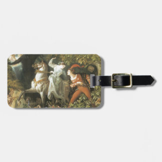 Undine and The Wood Demon - Vintage Fairy Tags For Luggage