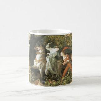 Undine and The Wood Demon - Vintage Fairy Coffee Mugs