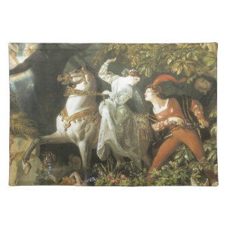 Undine and The Wood Demon - Vintage Fairy Place Mat
