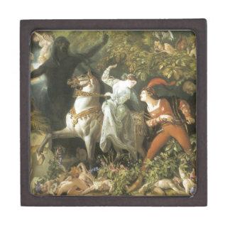 Undine and The Wood Demon - Vintage Fairy Premium Jewelry Boxes