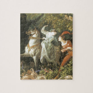 Undine and The Wood Demon - Vintage Fairy Jigsaw Puzzles
