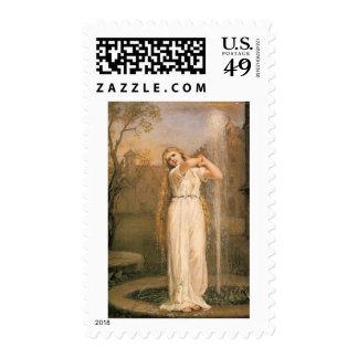 Undine by John William Waterhouse Postage Stamps