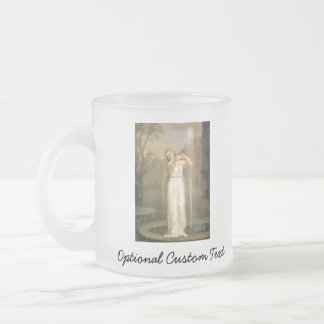 Undine Frosted Glass Coffee Mug