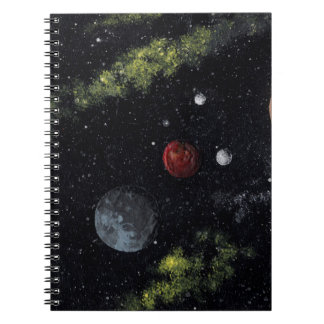 UNDISCOVERED SPACE (a space art design) ~ Notebook