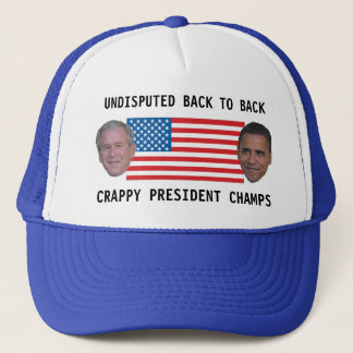 Undisputed Back to Back Champs Trucker Hat