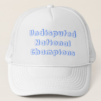 Undisputed National Champions Hat
