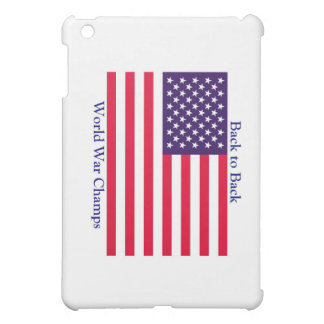 Undisputed World Champions! iPad Mini Covers