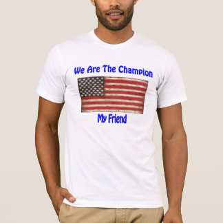 Undisputed World War Champions American Flag Gifts T-Shirt