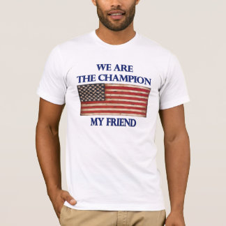 Undisputed World War Champions, American Flag T-Shirt