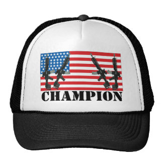 Undisputed World War Champions American Flag Truck Hats