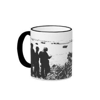 Undisputed World War Champions American Military Ringer Mug